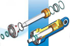 fonction différentielle vérin hydraulique