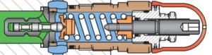 valve à visser