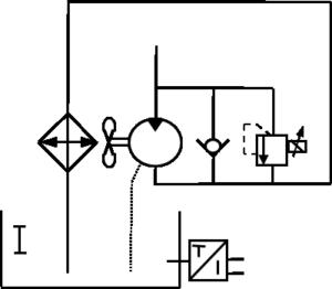 entrainement ventilateur par moteur hydraulique