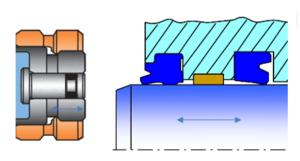 étanchéité hydraulique externe dynamique