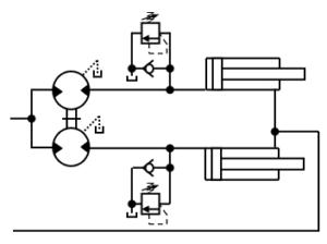 diviseur de débit volumétrique