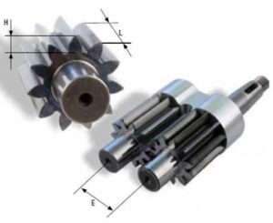Calculer cylindrée pompe à engrenage