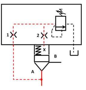schéma 1 : limiteur de pression