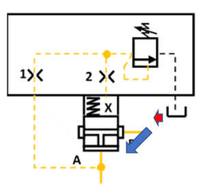schéma 1 : réducteur de pression